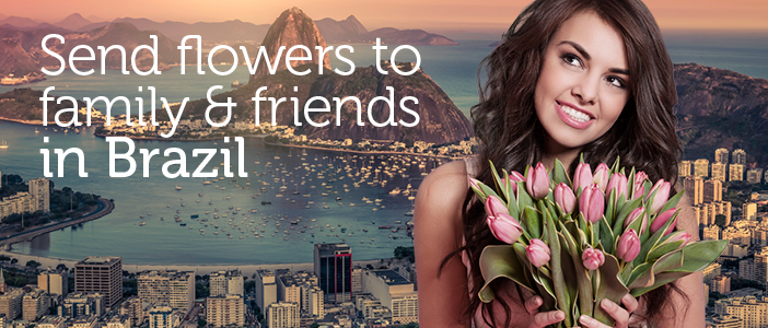 Sending flowers to Brazil by local florists has never been easier!