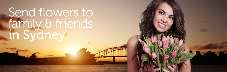 Send Flowers to Sydney, NSW from UK delivered by a local florist