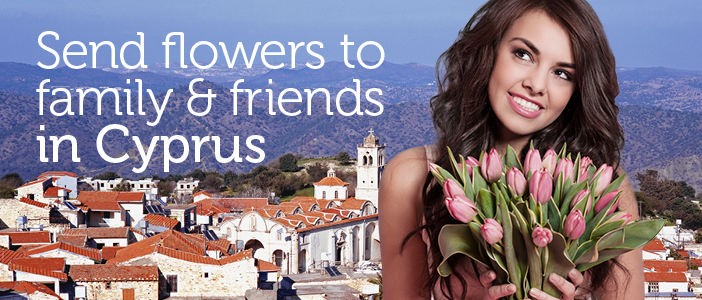Send Flowers to Cyprus from UK delivered by a local florist