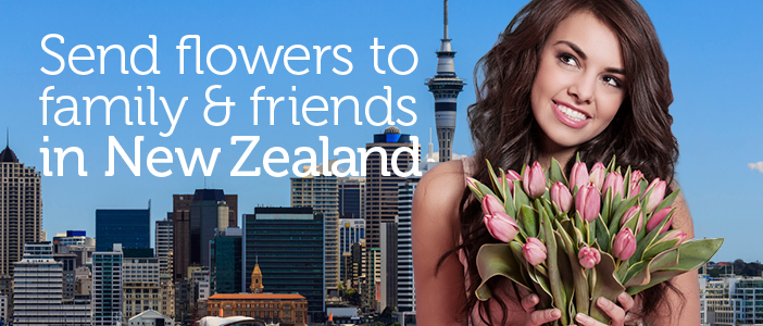 Send Flowers from local New Zealand Florists delivered by a local florist