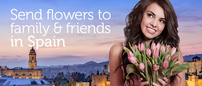 Send Flowers To Spain From UK Via Local Florists