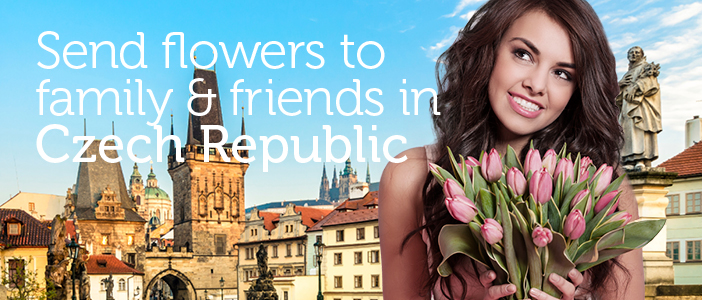 Send Flowers to Czech Republic delivered by a local florist