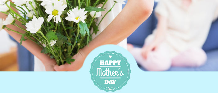 Send flowers on Mother's Day in the USA delivered by a local florist